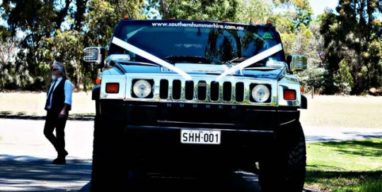 southern hummer hire - wedding car