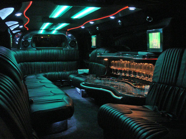 southern hummer hire inside the hummer