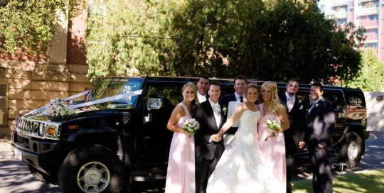 Weddings southern hummer hire
