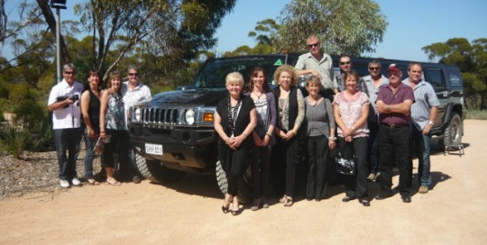 southern hummer hire wine trip